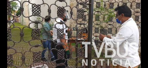 Regala Fundación Alfredo Harp Helú mil árboles en la ciudad de Oaxaca