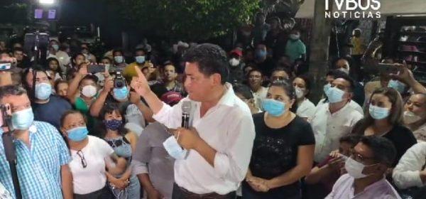 """""""No podemos traicionar la confianza de la gente"""", Irineo Molina tras triunfo virtual en Tuxtepec"""