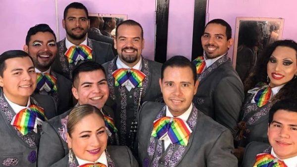 Mariachi Arcoíris: grupo integrado por miembros de la comunidad LGBT