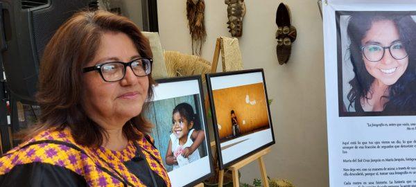 """Montan exposición """"Ojos de Sol"""" en honor a María del Sol Cruz Jarquín"""
