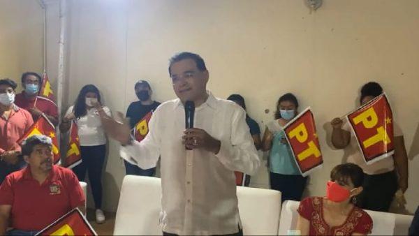Pese a que Benjamín Robles ganó, PT con malos resultados en elección del estado de Oaxaca