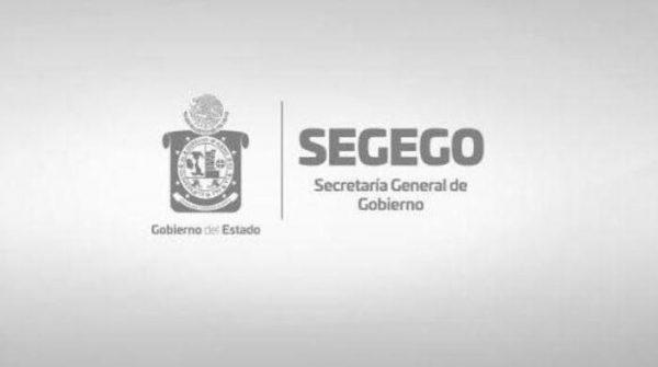 Publica Segego edicto sobre la prohibición de venta y consumo de todo tipo de bebidas alcohólicas por Jornada Electoral