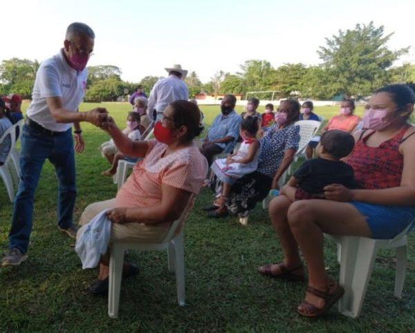 Me siento contento por la respuesta de la ciudadanía durante los recorridos: Horacio Orozco