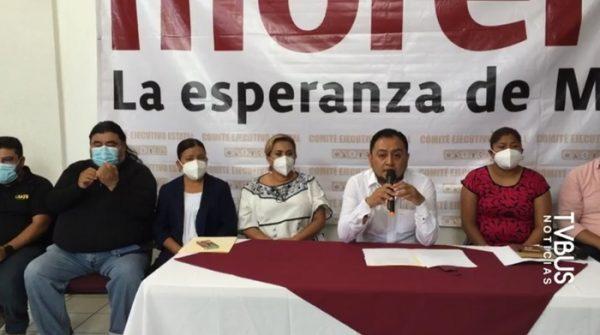 Morena exige alto a violencia política en Oaxaca, piden que haya garantías en la jornada electoral