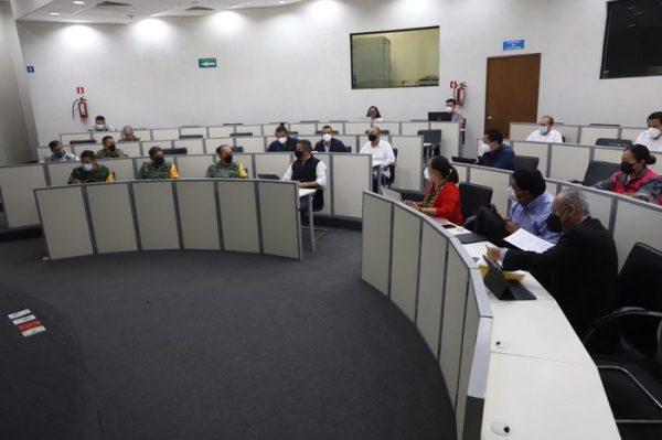Mesa de Seguridad acuerda iniciar operativos conjuntos para vigilar y atender a la población durante la jornada electoral