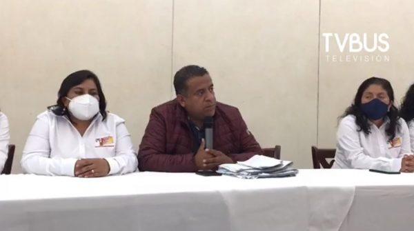 Con diferencia de 17 votos, candidato del PRI-PRD se declara vencedor en San Pablo Villa de Mitla