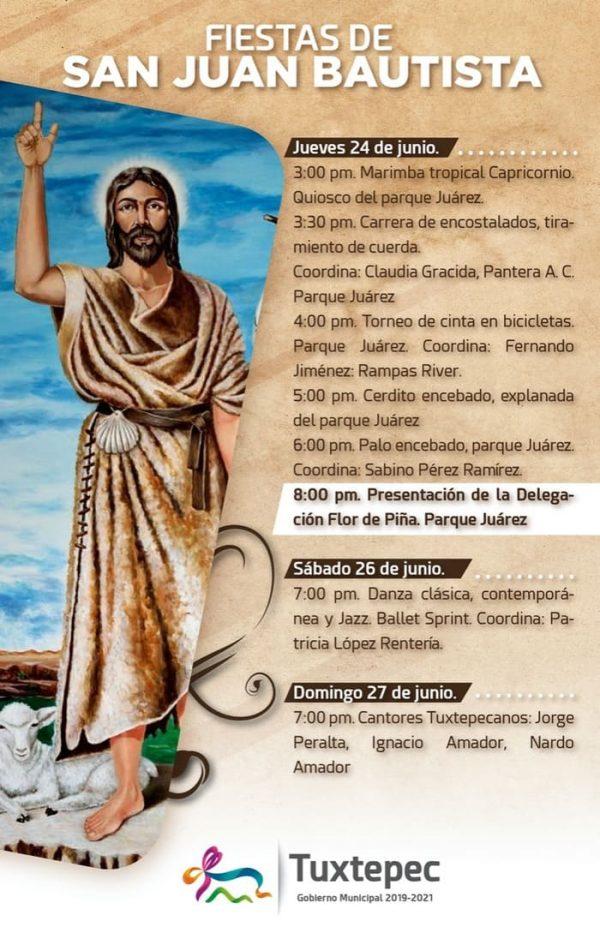 Con exposición artesanal y eventos culturales colabora Gobierno de Noé Ramírez Chávez en fiestas de San Juan