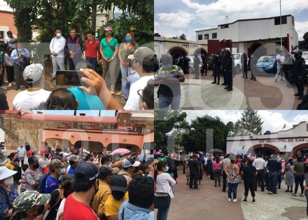 Ex candidatos de San Jacinto Amilpas, impugnarán elección municipal