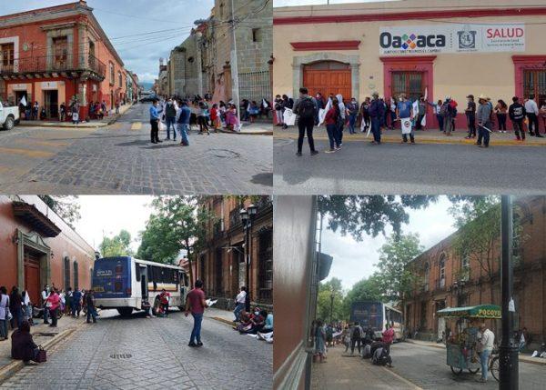 Organización 23 de octubre toma oficinas de SSO, exigen audiencia con Márquez Heine