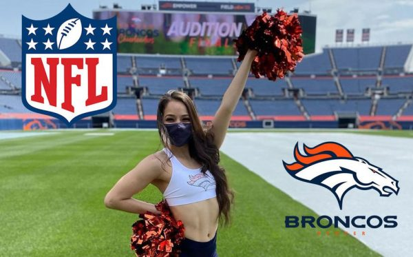 Mexicana llega a a NFL; Daniela Zubia se une porristas de Denver Broncos
