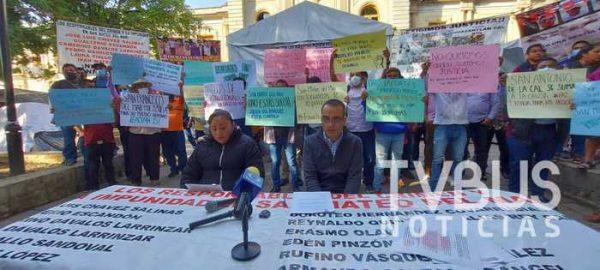 Comité de Víctimas de Huazantlán, nombran a Jorge Leoncio Arroyo Rodríguez como vocero