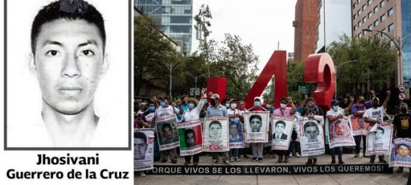 Identifican restos de Jhosivani Guerrero, uno de los 43 normalista de Ayotzinapa