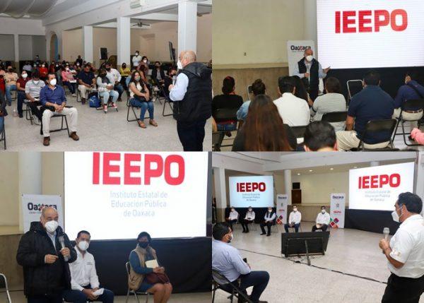 Inicia Director General del IEEPO jornada estatal para el diálogo y consenso en temas educativos