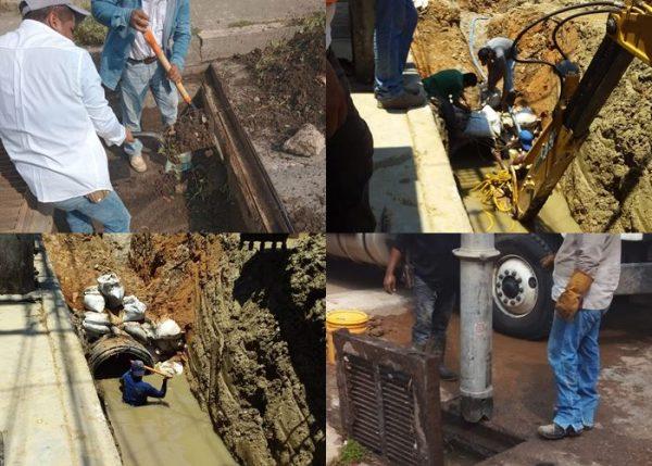 Permanente el programa de limpieza y desazolve de alcantarillas en Tuxtepec
