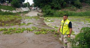 Cierran vados en primera y quinta sección de Juchitán por incremento en nivel del río