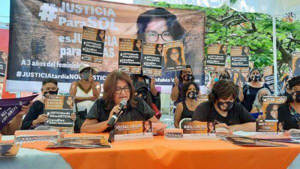 A tres años de asesinato, Soledad Jarquín exige justicia para su hija