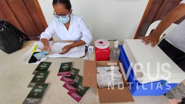 Llama JS-3 a vacunar a menores de 1 a 9 años contra el Sarampión y Rubéola