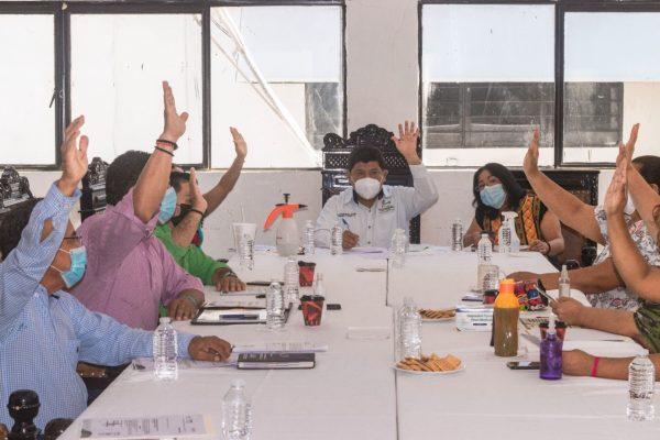 Retrocede el Estado de Oaxaca a semáforo color naranja,  Cabildo  de Tuxtepec toma medidas para frenar contagios.