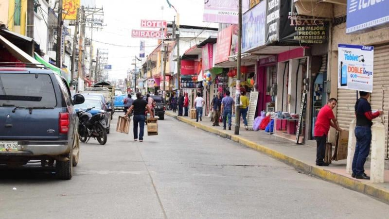 Se amplía el aforo en comercios de Tuxtepec por semáforo amarillo en contagios Covid