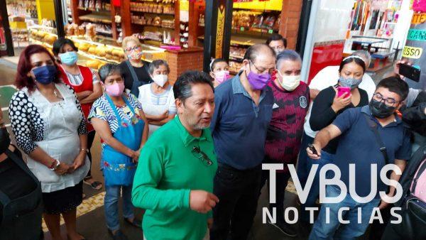Construcción de Centro Gastronómico es un capricho de Murat afirman locatarios del mercado 20 de noviembre