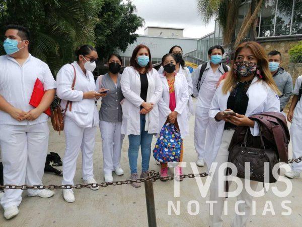 Denuncia personal médico, de enfermería y camilleros despido sin previo aviso del Hospital Juárez del ISSSTE