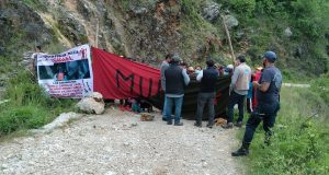 Diputada Federal suplente de MORENA y MULT obstaculizan regreso de familias triquis a Tierra Blanca Copala