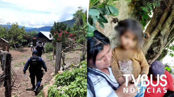 En una cueva, encuentran a niña extraviada en Oaxaca