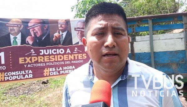 Ex candidato de Morena, acusa al INE de querer boicotear la consulta popular