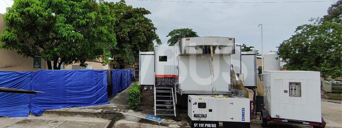 Por alza en hospitalización, ponen en marcha la Unidad Móvil de Terapia Intensiva en Tuxtepec