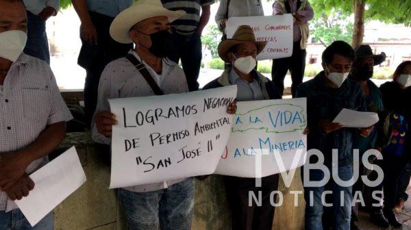 Ganan autoridades a empresa minera, SEMARNAT no otorgó permiso ambiental