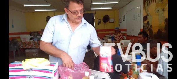Inicia comedor Beth-Lehem colecta de víveres luego de haber sido víctima de la delincuencia