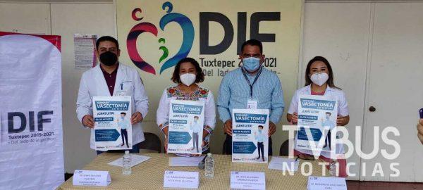Jornada de vasectomía sin bisturí, gratuita en Tuxtepec; el municipio con más cirugías de su tipo en Oaxaca en 2019