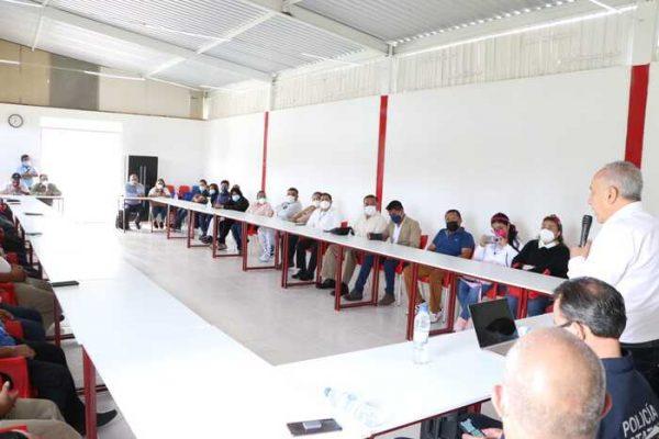 Suma SSPO esfuerzos para incrementar la seguridad en la Central de Abasto