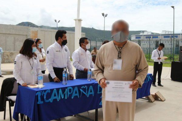 Arranca SSPO primera campaña de alfabetización a personas privadas de la libertad en penal de Tanivet