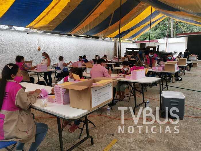 Avanza proceso para consulta popular en el distrito 01, con cabecera en Tuxtepec