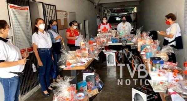 Con rifa, Cruz Roja Tuxtepec recaudó fondos para reactivar su servicio