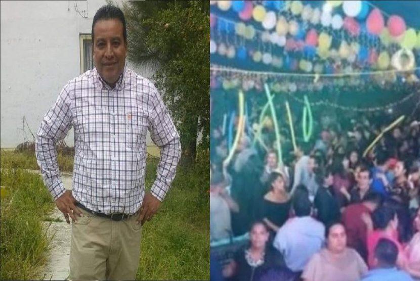 Muere presidente de Choapam víctima de Covid-19; en enero anunció contagio masivo tras baile