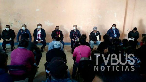 Gobernador llega a Santiago Textitlán para resolver conflicto