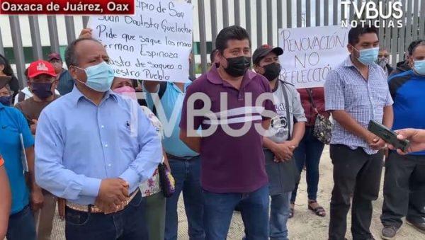 No existe la autoridad comunitaria, refutan habitantes de Guelache