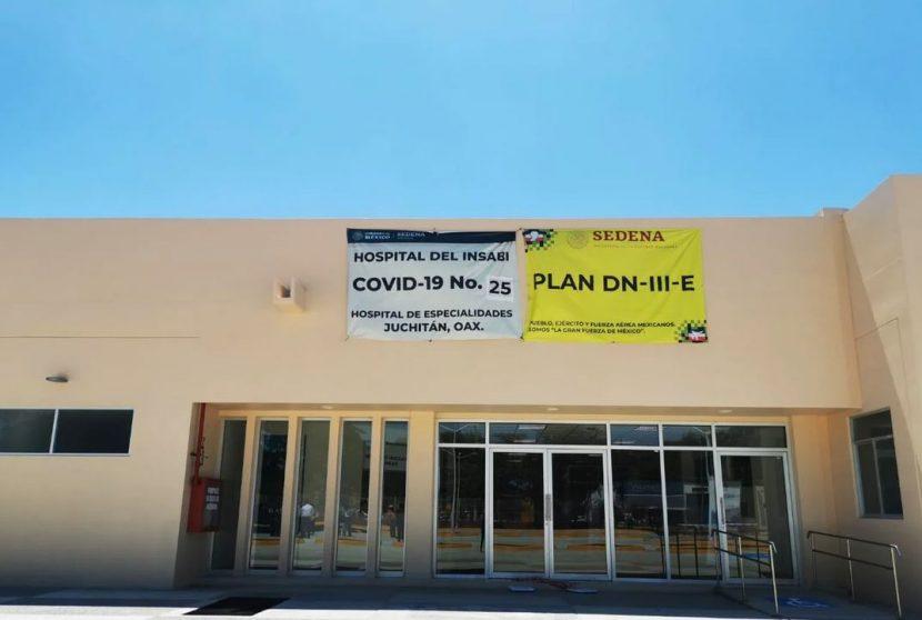 Por incremento de contagios de Covid, reabrirán hospital de especialidades de Juchitan