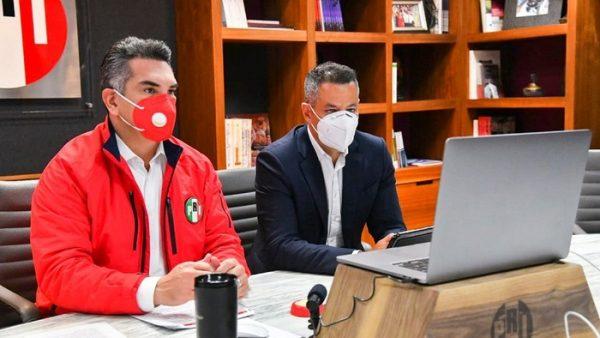 Murat, Avilés y Diputados Electos de Oaxaca manifiestan su respaldo hacia dirigente nacional del PRI