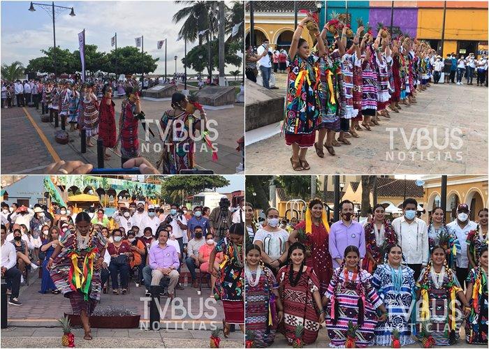 "Conquista ""Flor de Piña"" a Tlacotalpan; Ya es símbolo de la cultura cuenqueña"
