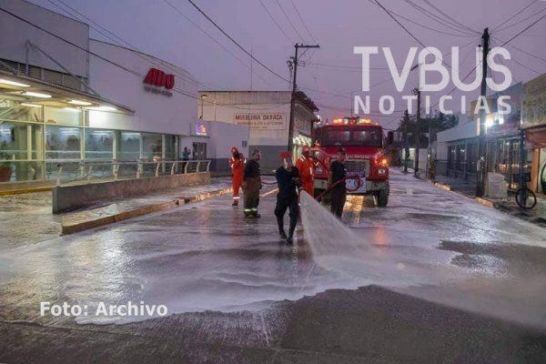 Por incremento de casos covid, reanudarán jornadas de sanitización en Tuxtepec
