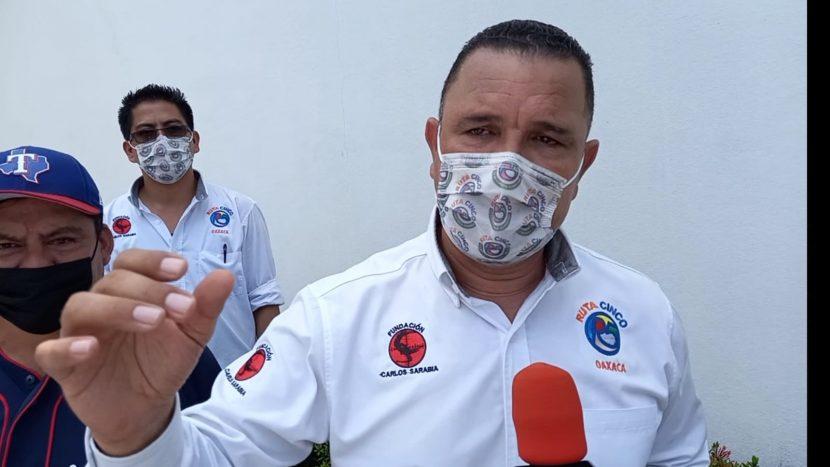 Va Carlos Sarabia por la Gubernatura de Oaxaca, asegura contar con el cariño de la gente