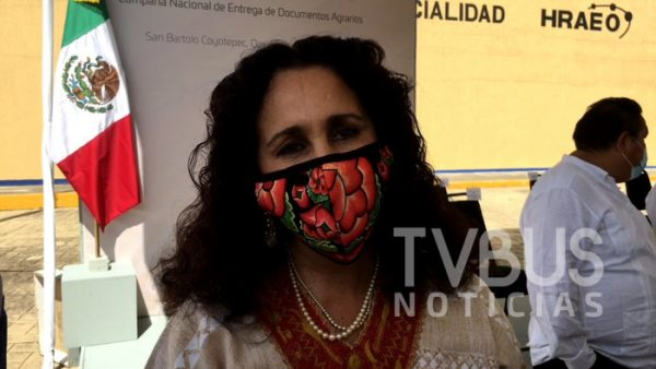 Servir a Oaxaca siempre será un placer y un honor: Susana Harp