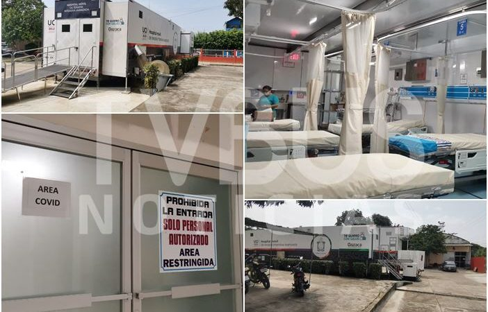 A más de un año de pandemia, funcionará unidad móvil Covid en Tuxtepec