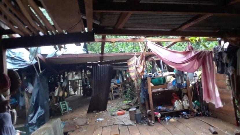 Pueblos incomunicados, deslaves y derrumbes, afectaciones al cultivo y la ganadería, deja el mal tiempo en Valle Nacional