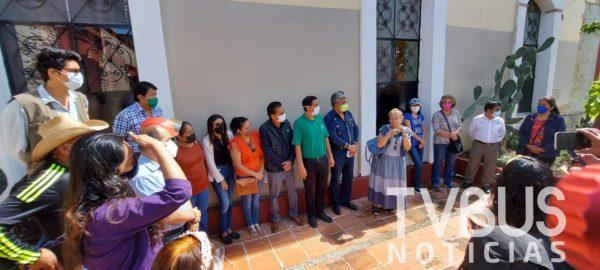 Vecinos, COAO y FAHHO en contra de privatización de plazuela el Calvario de la capital