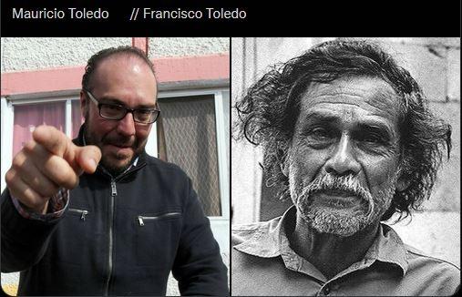 Oaxaqueños tunden en redes a Adela Micha, por confundir a Francisco Toledo con Mauricio Toledo