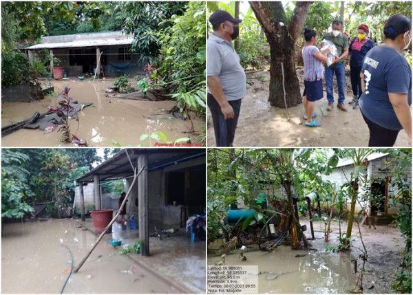 CEPCO mantiene monitoreo en San Juan Guichicovi por intensas lluvias e inundaciones